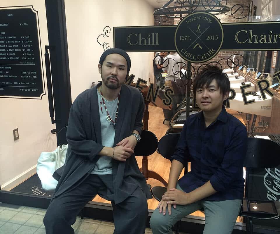 CHILLCHAIR 高円寺店 お客様の声 | 島田りゅういちさま