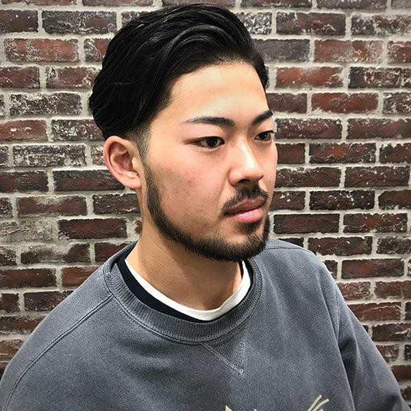 CHILLCHAIR 高円寺店 清水カット 七三ラフスタイル